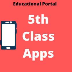 Education 5th class apps