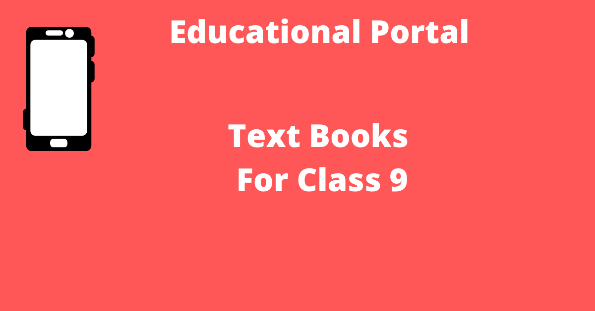 TextBooks For Class 9